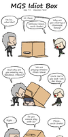 MGS Idiot Box by TariToons