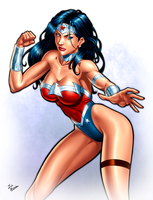 Wonder Woman by ZabZarock