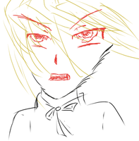 Random Drawing with Tablet :D by Ha3uhi