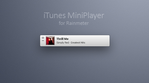 iTunes MiniPlayer by rabra