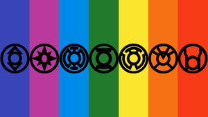 7 Lantern Corps Wallpaper 1 by mr-droy