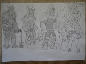 Titanic Mythology Sketches 10