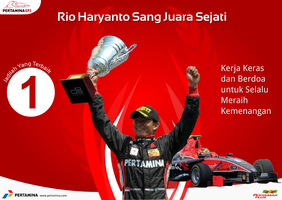 Rio Haryanto The Real Hero by bluedee