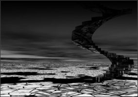 B7P - Icy stairs by andyshade