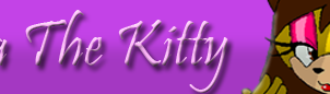 Maria The Kitty Character Bar -AT Gift- by SelTheQueenSeaia