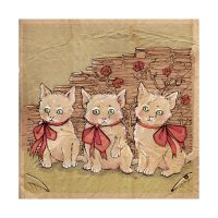 Three Little Kittens by puppeteer-for-kings