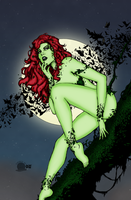 Poison Ivy in the Pale Moonlight by Blackmoonrose13