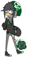 Chibi Liam Strauss by DaGreatVincE