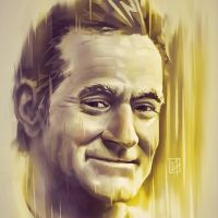 Robin Williams Tribute by C0y0te7