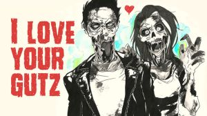 Zombie love card by Suihowl