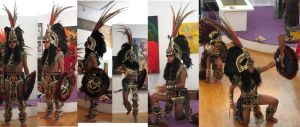 Free Aztec Dancer stock pack 1 by tursiart