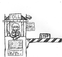 Parsee Mizuhashi's Tollbooth by IrateResearchers