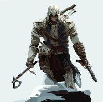 Connor Kenway by kingfret