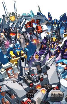 TF MTMTE 28 cover by markerguru