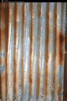 SS-0109 Rusty Metal Wall by Stocking-Stuffer