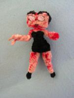 Betty Boop (Zombie) by fuzzyfigureguy