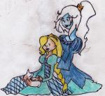 Ice Queen and Fionna by YouseiChan