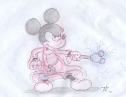 Mickey with Scepter by DisneyFan-01