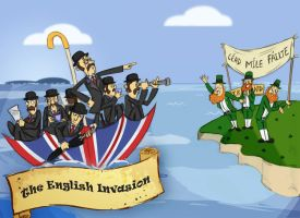 The English Invasion by Wiggagram