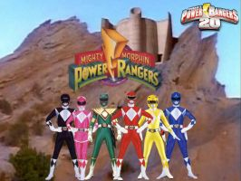 Power Rangers 20- Mighty Morphin 1 by ThePeoplesLima