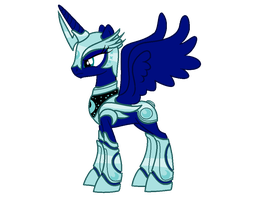 mlp armor base luna's size ^3^ by RainbowShine-Mlp