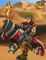 Jak and Daxter by MrEHollo