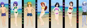 MMD_Slayers_Summer by IgnisDraconi