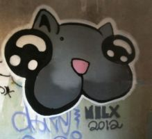 Hit my cat to the wall by milzs
