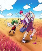 Arale - Gacchan - Countryside colour by AliceSacco