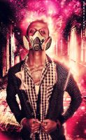 Love in the air,gas mask ON by SeeusCreations