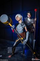 ::Dragon Age 2 Cosplay: Hawke and Fenris:: by Lanzio