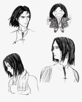 Amon Sketches by DoujimaYurika
