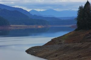 Fall Creek Reservoir, OR by finhead4ever