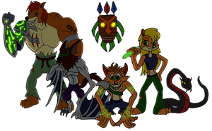 Legend of Crash: Heroes by Inkheart7