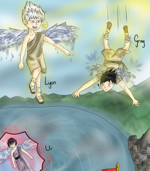 [Collab] The boy who flew too high