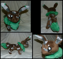 Lifesize eevee OC plush by MegasArtsAndCrafts