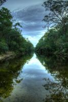 Ingleburn Wier - Downstream by riccardo-avocado