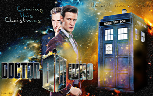 Doctor Who, Coming this Christmas Wallpaper by Cyrdanwwe