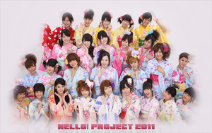 Hello Project 2011 Wallpaper by BeforeIDecay1996