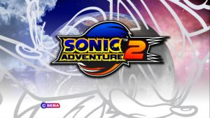 Sonic Adventure 2 (Dreamcast Title Screen) by UKD-DAWG