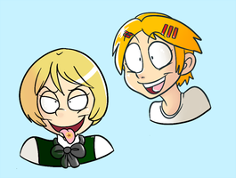 toony alois and finny by snowcalico