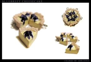 Blueberry Cheesecake by Abraxnis