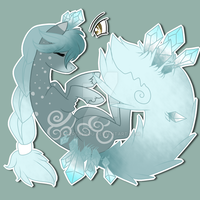 :Tailmouth Adopt: Icey princess (Closed) by AzrealRou