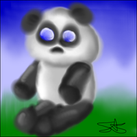 5 Minute challenge of Panda by Sparxz86