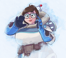Overwatch: Mei by Dansome0203