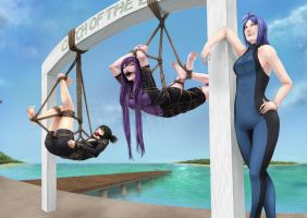 Commission - Catch of the day by xX-ecchinata-Xx