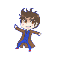 Tenth Doctor by takai-ouji