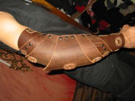Leather arm by Sebbal