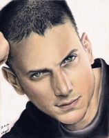 :: Wentworth Miller :: by Maggy-P