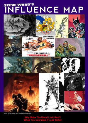 Steve Ward's Influence Map